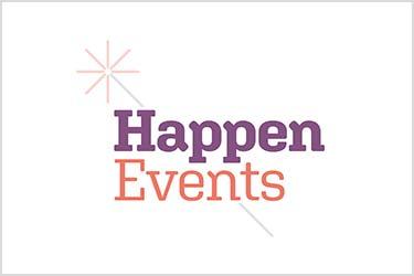 Logo design for Happen Events