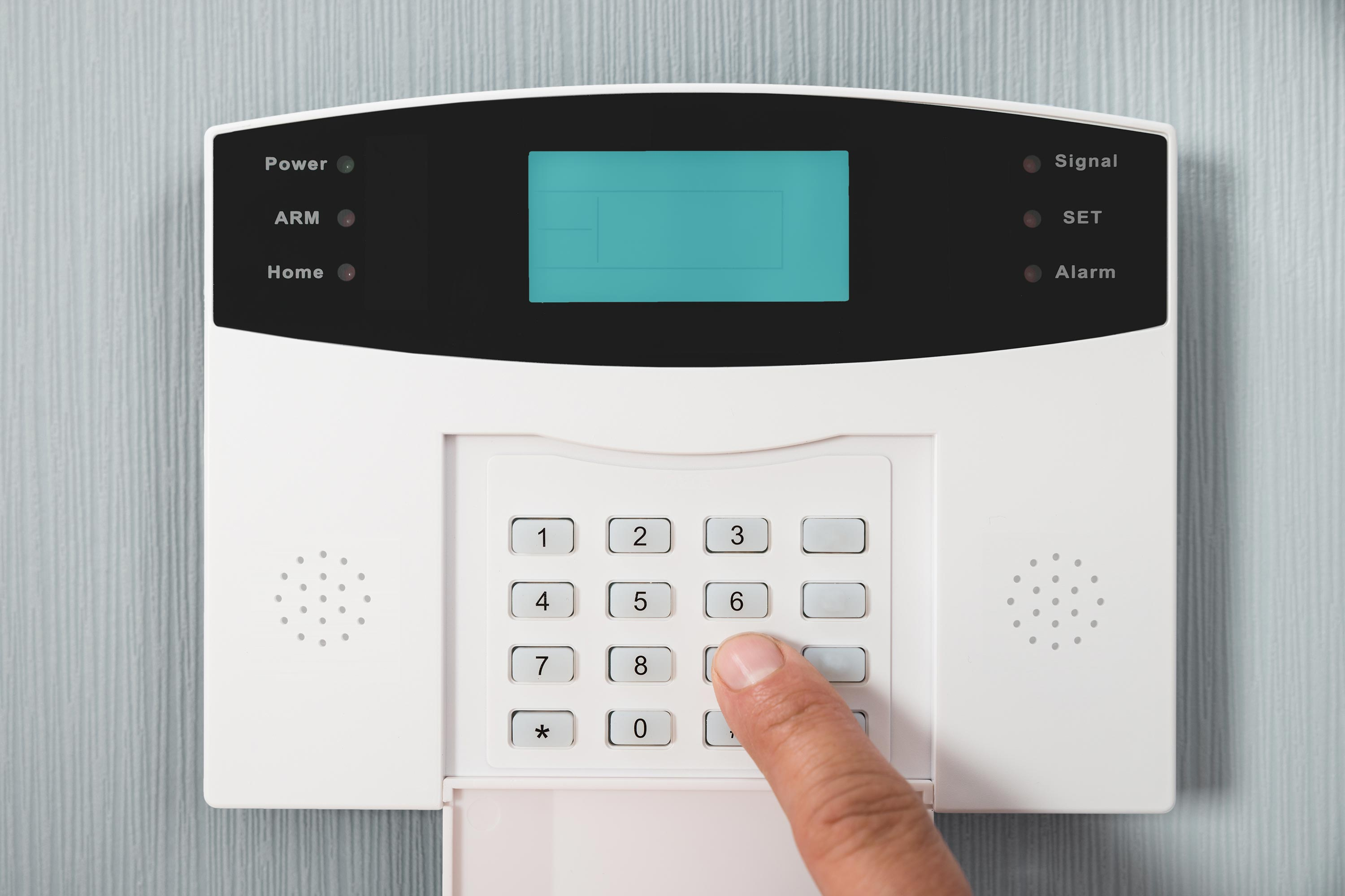 Digital Keypad : bedroom-security-system - designwebi.com