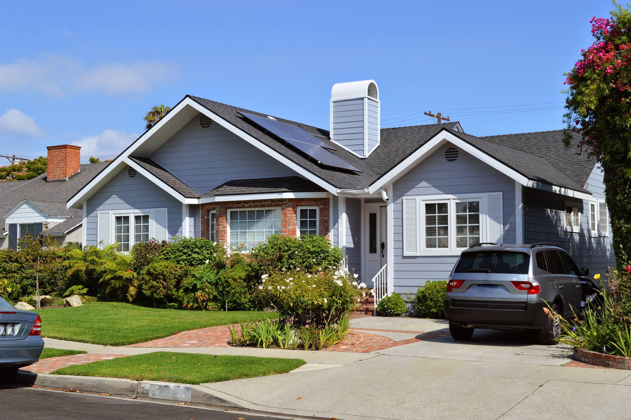 Solar Panels On New House